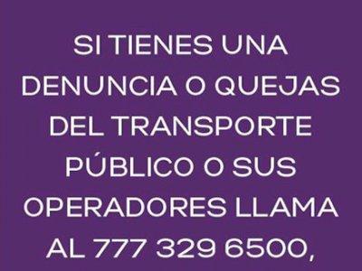 """<a href=""""/noticias/denuncias-transporte-publico"""">DENUNCIAS TRANSPORTE PÚBLICO</a>"""